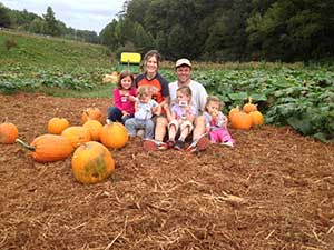 Pumpkin Patch at the Red apple barn in Ellijay, Ga